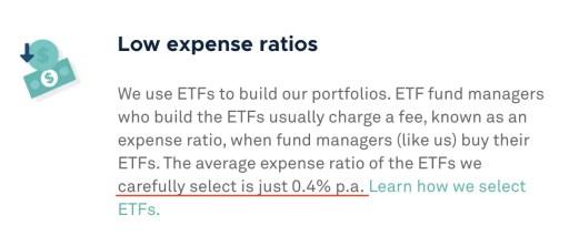 StashAway Expense Ratio