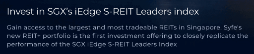 Syfe REIT iEdge Leaders Index