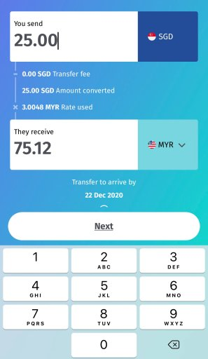 BigPay Overseas Remittance