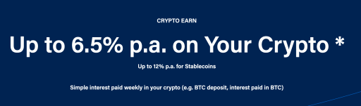 Crypto Earn Interest Rate
