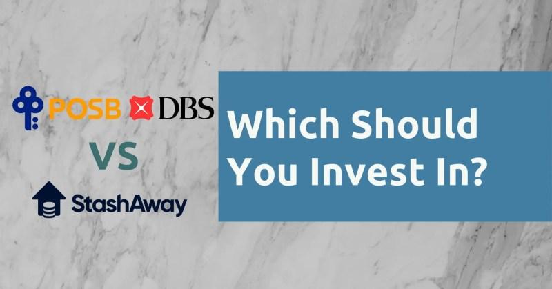 POSB Invest Saver vs StashAway