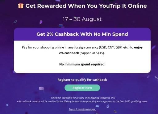 YouTrip Cashback