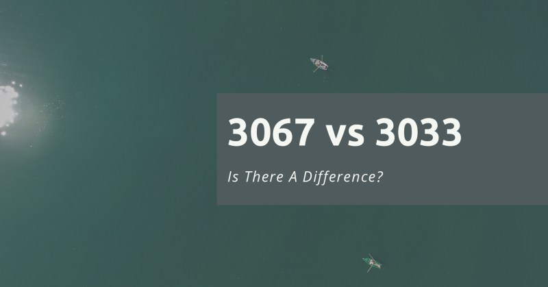 3067 vs 3033