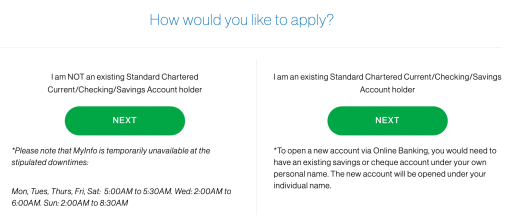 Standard Chartered Online Trading Sign Up