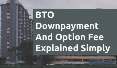 BTO Downpayment And Option Fee