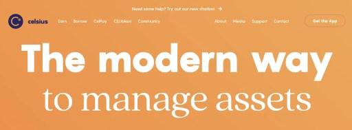 Celsius Web Platform