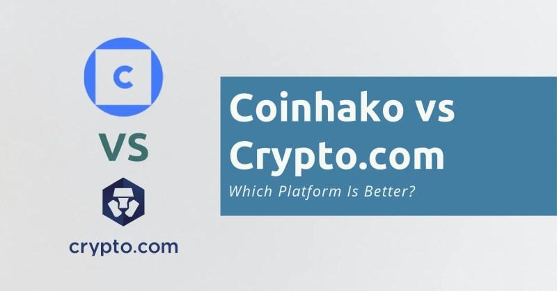 Coinhako vs Crypto.com