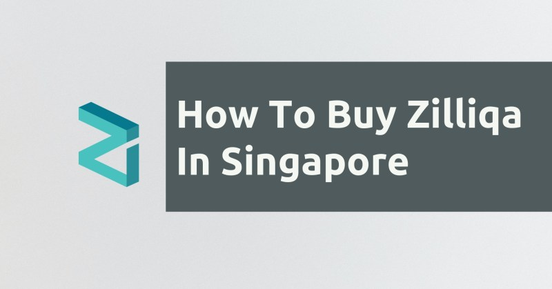 How To Buy Zilliqa In Singapore
