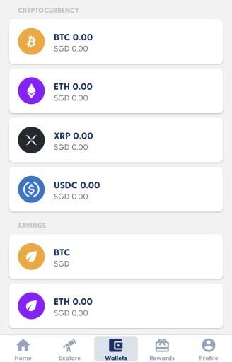 Luno Crypto Wallet and Savings Wallet