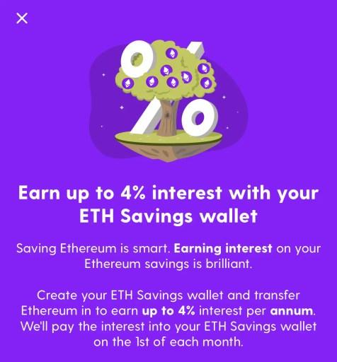 Luno Ethereum Savings Wallet