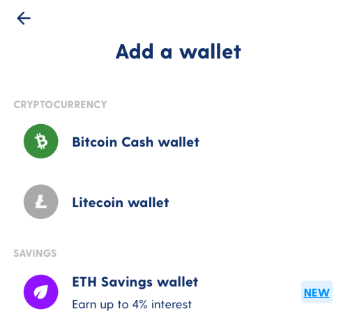 Luno Savings Wallet Create Wallet
