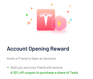 Tiger Brokers Tesla Share Discount Coupon