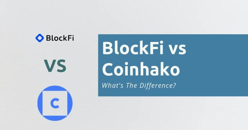 BlockFi vs Coinhako
