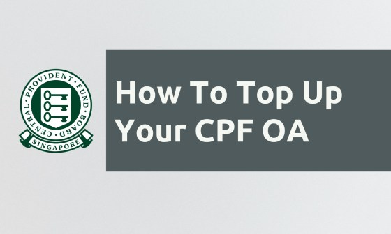 CPF OA Top Up