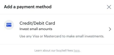 Coinbase Add Credit Debit Card