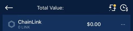 Crypto.com App Find LINK