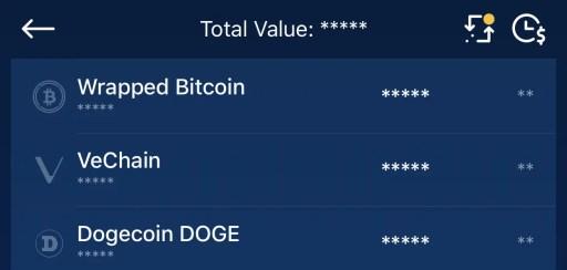 Crypto.com App Find VeChain