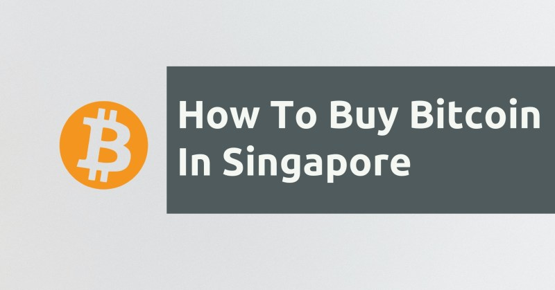 How To Buy Bitcoin In Singapore