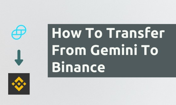 How To Transfer From Gemini To Binance