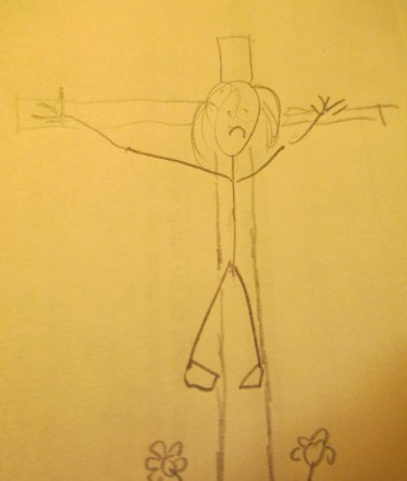 Jesus in pencil 008