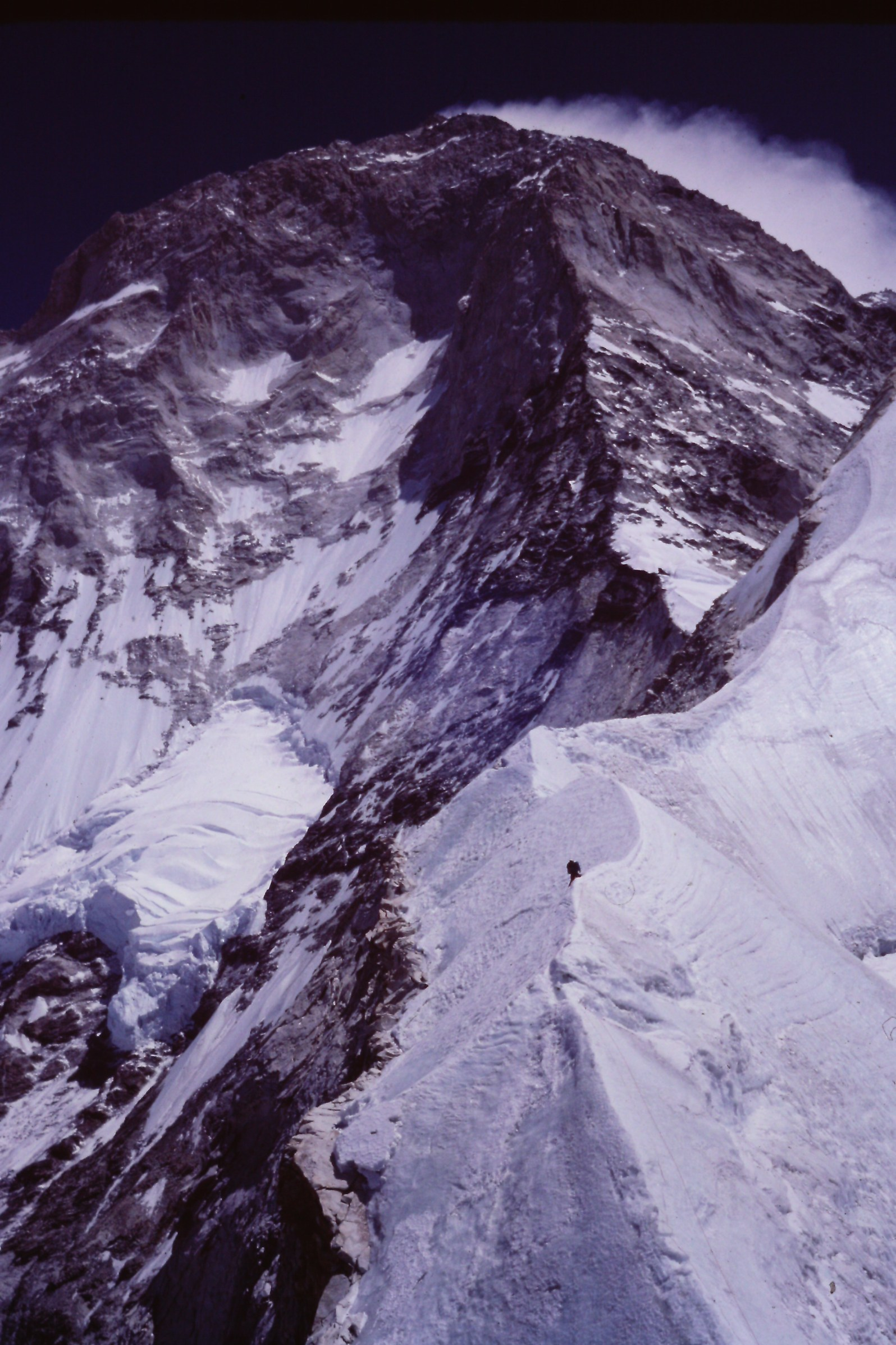 Climber on the