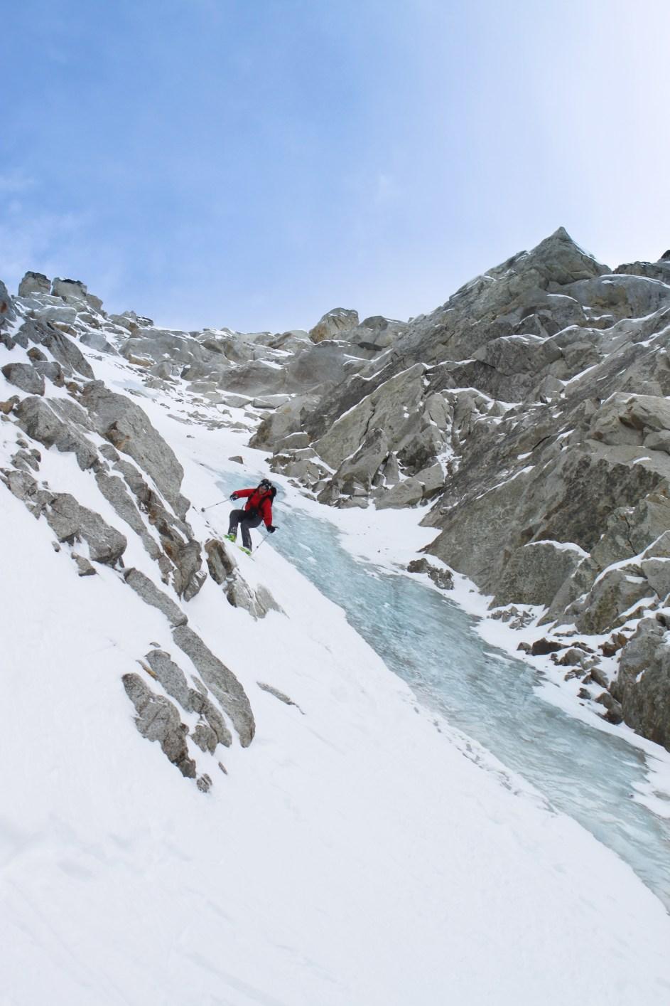 Skiing In The Revelation Mountains, AK.