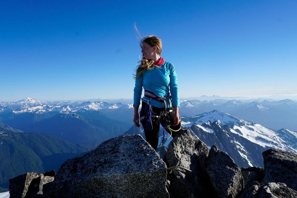 Summit of Eldorado. North Cascades, Washington.