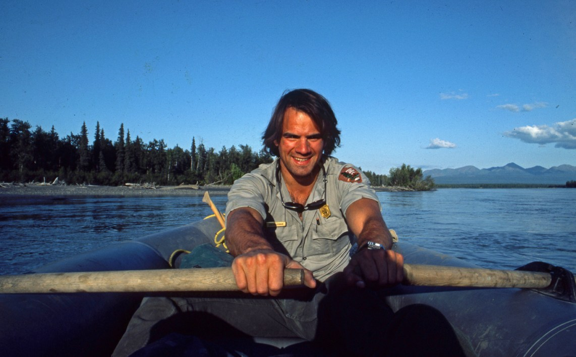 Waterman wearing his Denali ranger attire. Circa 1984