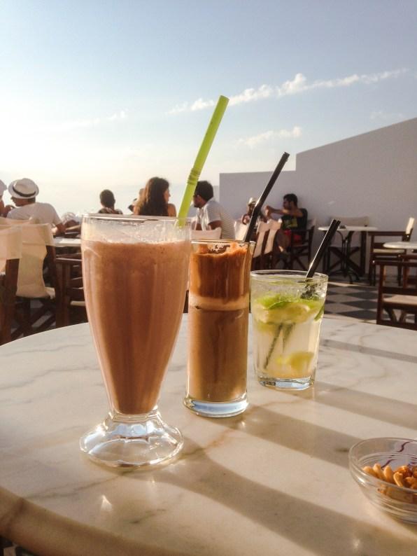 Utopia Cafe: Palka, Milos, Greece