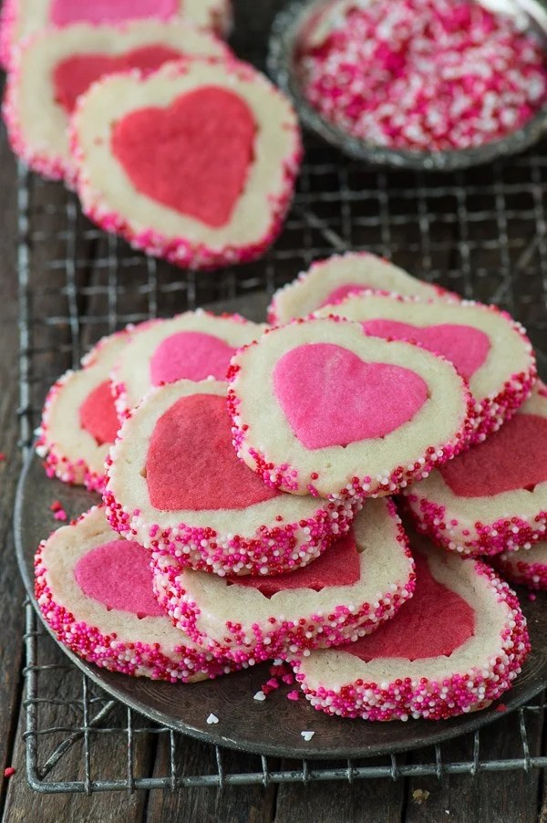 Valentines Day Slice N Bake Cookies The First Year