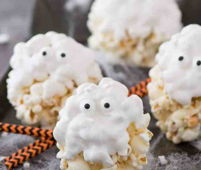 Ingredient Ghost Popcorn Balls Our Family Loved Making This Easy Halloween Treat