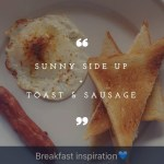 Toast and Sunny Side up