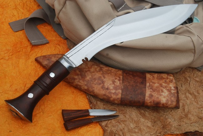 Night Knife Fishing with a Khukari Knife