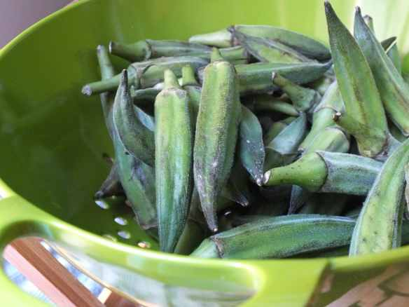 Spicy Oven-Roasted Okra