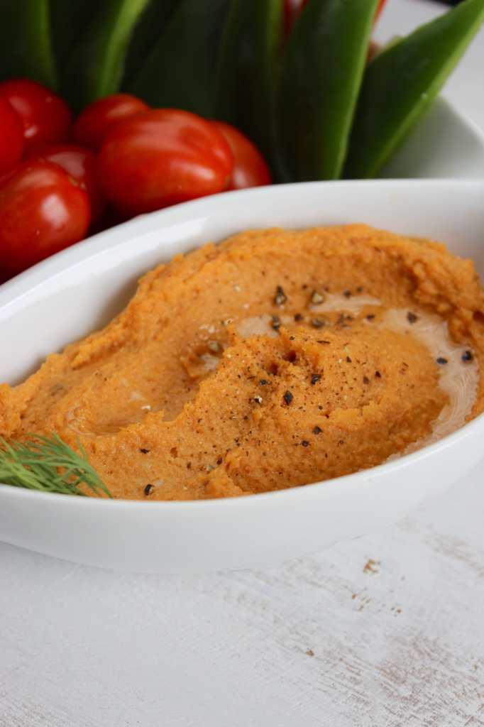 Chipotle Sweet Potato Hummus