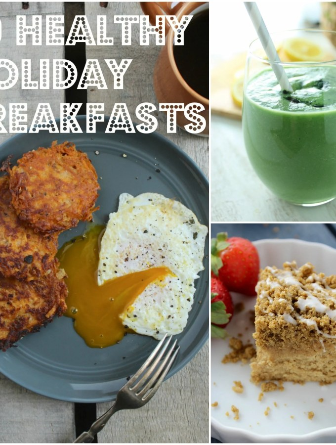10 Healthy Holiday Breakfasts