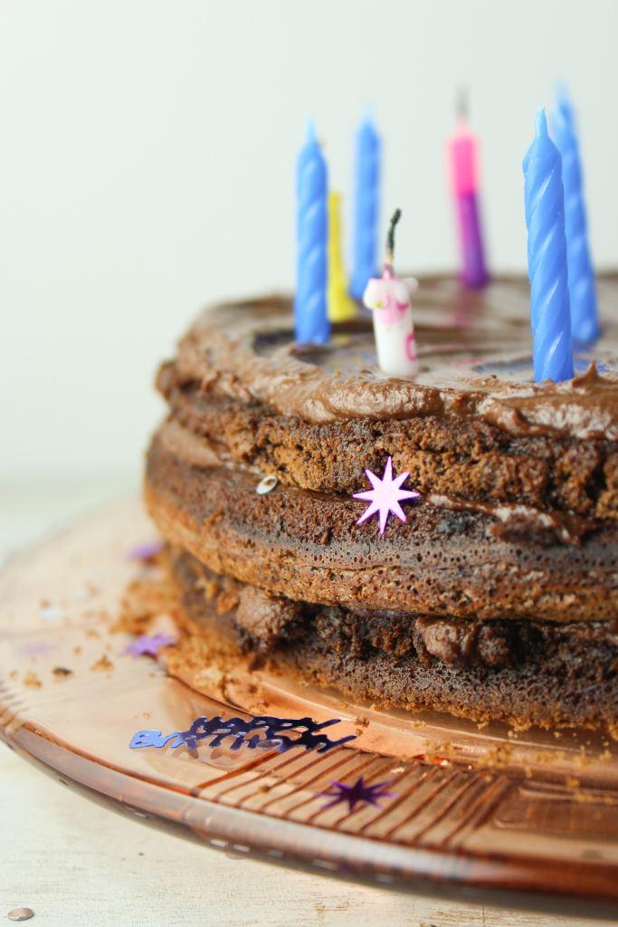 3 Layered Chocolate Cake