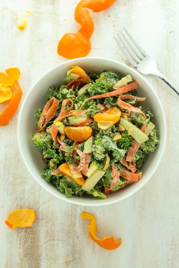 Asian Mandarin Kale Salad