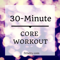 30-Minute Core Challenge Workout