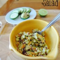 Avocado Chicken Salad - Mayo Free!