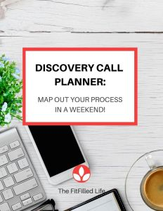 Discovery Call Process Planner