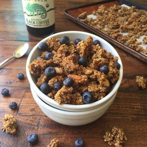 Coffee Crunch Granola 3 (GF, DF, V, VF, Refined Sugar Free)