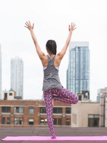 yoga class pranayama