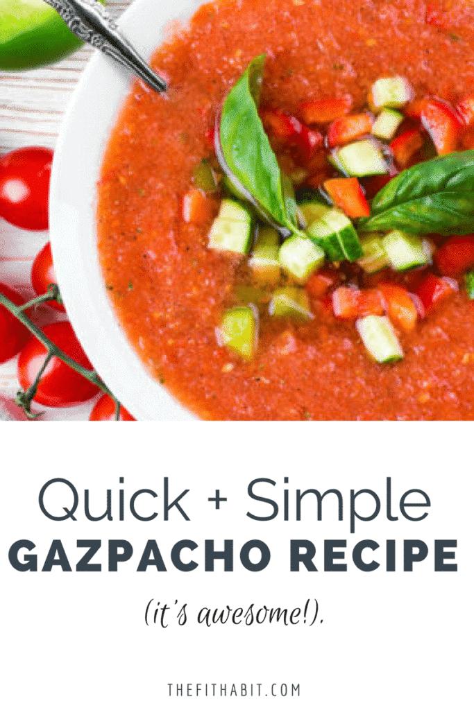 plant based gazpacho recipe