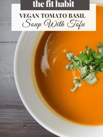vegan tomato basil soup