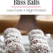Coconut Chocolate Bliss Balls