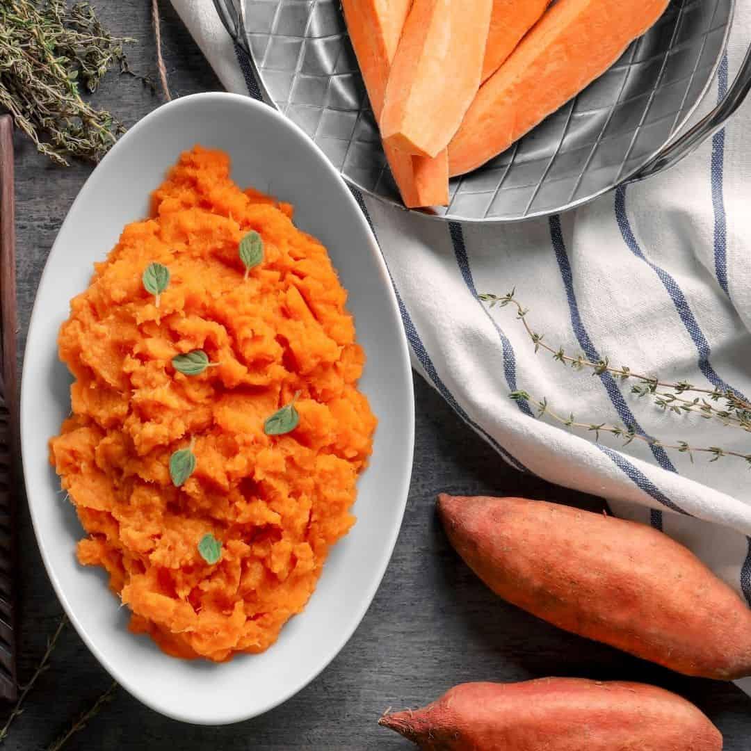 sweet potato with lime
