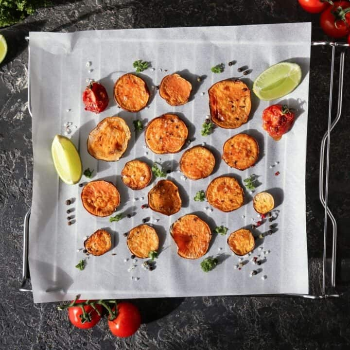sweet potatoes with a twist of lime