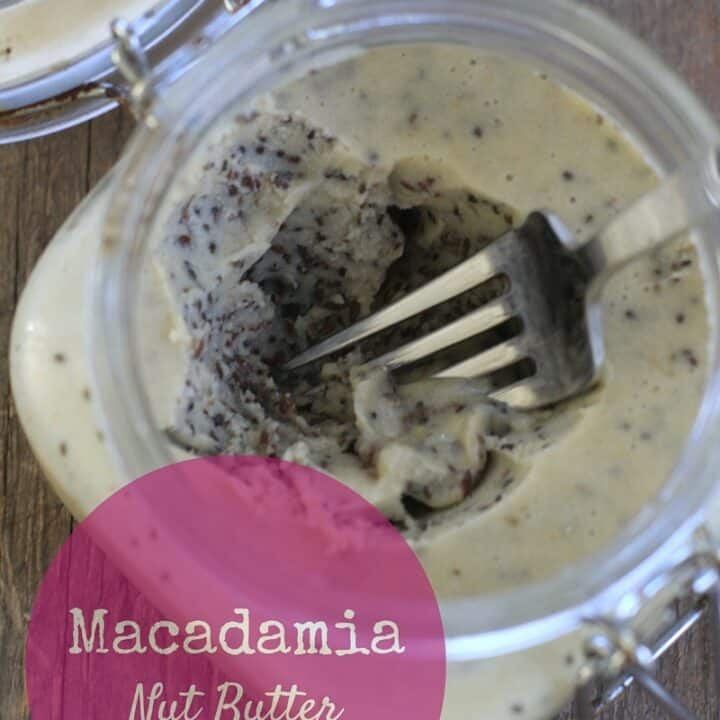 macadamia nut butter recipe