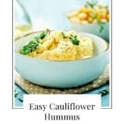 cauliflower hummus recipe